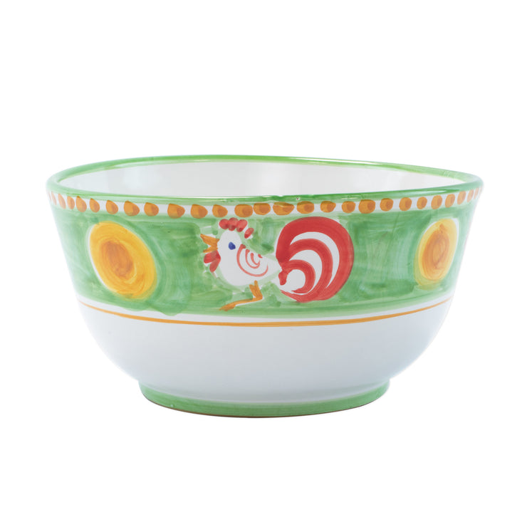 Campagna Gallina Deep Serving Bowl by VIETRI