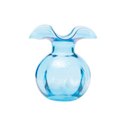 Hibiscus Glass Aqua Bud Vase by VIETRI