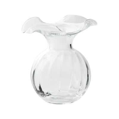 Hibiscus Glass Small Fluted Vase by VIETRI