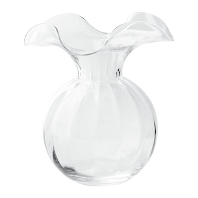 Hibiscus Glass Medium Fluted Vase by VIETRI