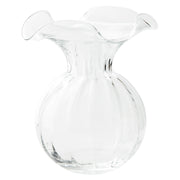 Hibiscus Glass Large Fluted Vase by VIETRI