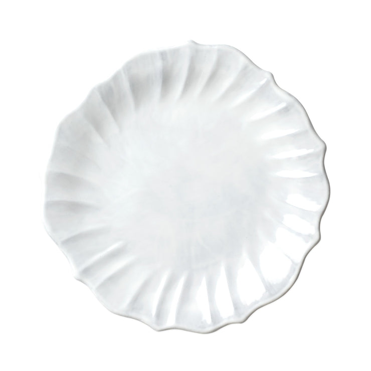 Incanto Ruffle Dinner Plate by VIETRI