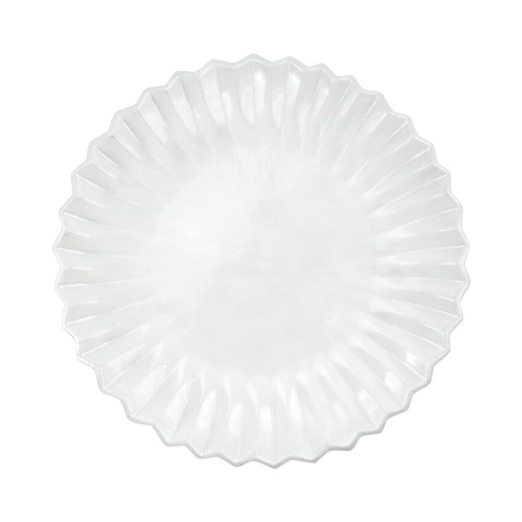 Incanto Pleated American Dinner Plate by VIETRI