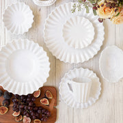 Incanto Pleated American Dinner Plate
