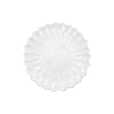 Incanto Pleated Salad Plate by VIETRI