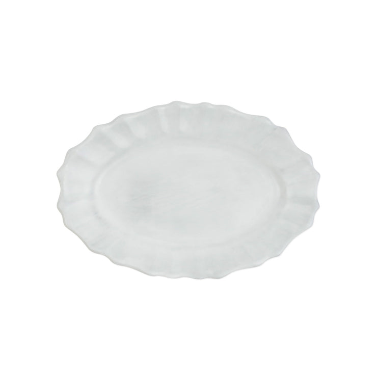 Incanto Scallop Small Oval Tray by VIETRI