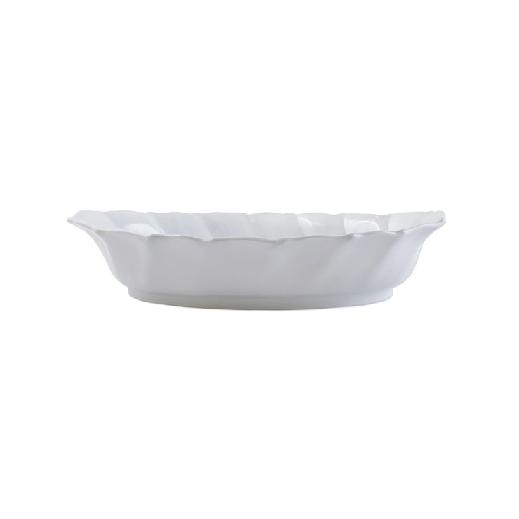 Incanto Ruffle Handled Oval Baker by VIETRI