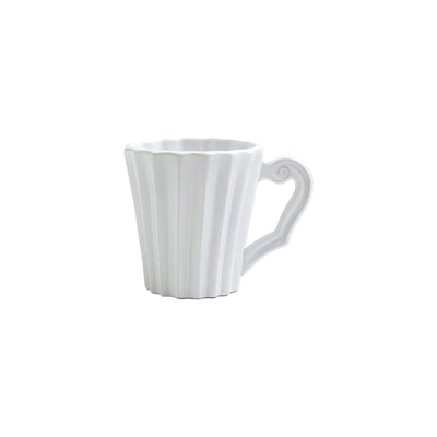 Incanto Pleated Mug by VIETRI