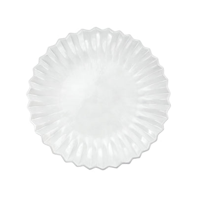 Incanto Pleated European Dinner Plate by VIETRI