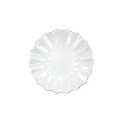 Incanto Pleated Canape Plate by VIETRI