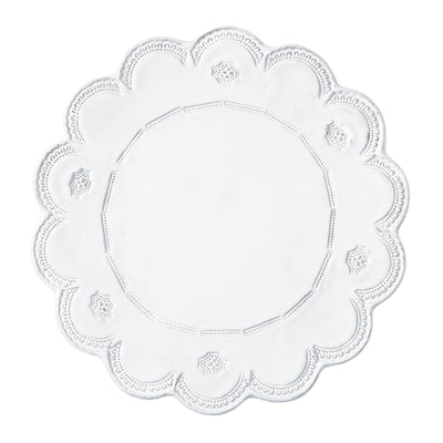 Incanto Lace Service Plate/Charger by VIETRI