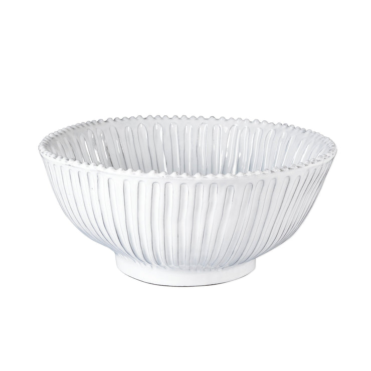 Incanto Stripe Large Serving Bowl by VIETRI