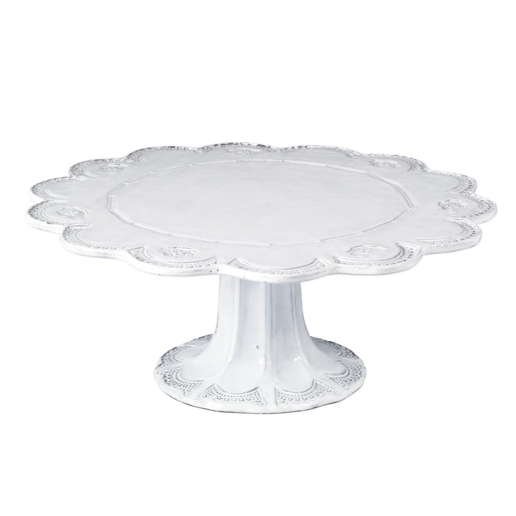 Incanto Lace Large Cake Stand by VIETRI