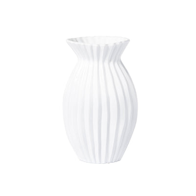Incanto Pleated  Vase by VIETRI