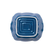 Italian Bakers Blue Small Square Baker by VIETRI