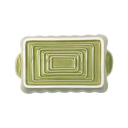 Italian Bakers Green Small Rectangular Baker by VIETRI