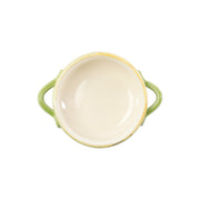 Italian Bakers Green Small Handled Round Baker by VIETRI