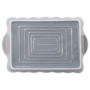 Italian Bakers Gray Large Rectangular Baker by VIETRI