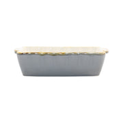 Italian Bakers Gray Small Rectangular Baker by VIETRI