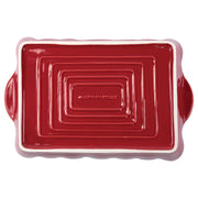 Italian Bakers Red Large Rectangular Baker by VIETRI
