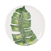 Into the Jungle Banana Leaf Dinner Plate by VIETRI