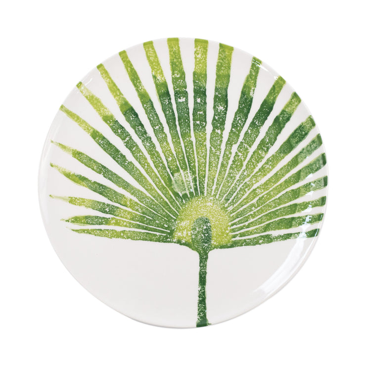 Into the Jungle Palm Leaf Dinner Plate by VIETRI