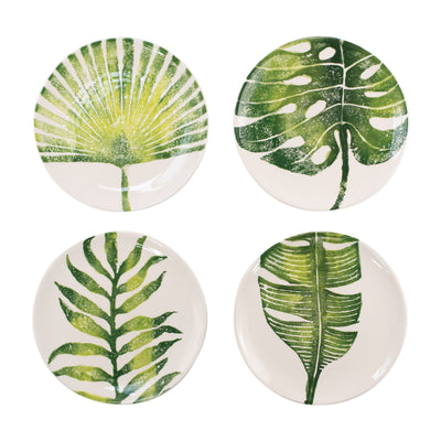 Into the Jungle Assorted Salad Plates - Set of 4 by VIETRI