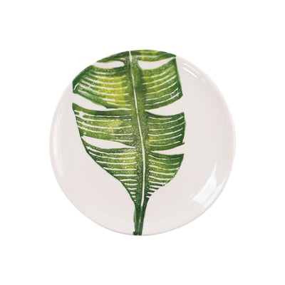 Into the Jungle Banana Leaf Salad Plate