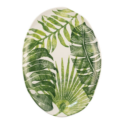 Into the Jungle Medium Oval Platter