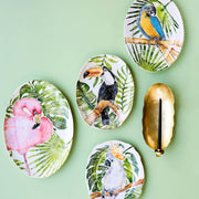 Into the Jungle Toucan Oval Platter