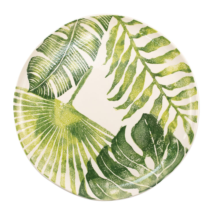 Into the Jungle Multi-Leaf Round Platter by VIETRI
