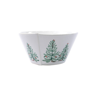 Lastra Holiday Medium Stacking Serving Bowl by VIETRI