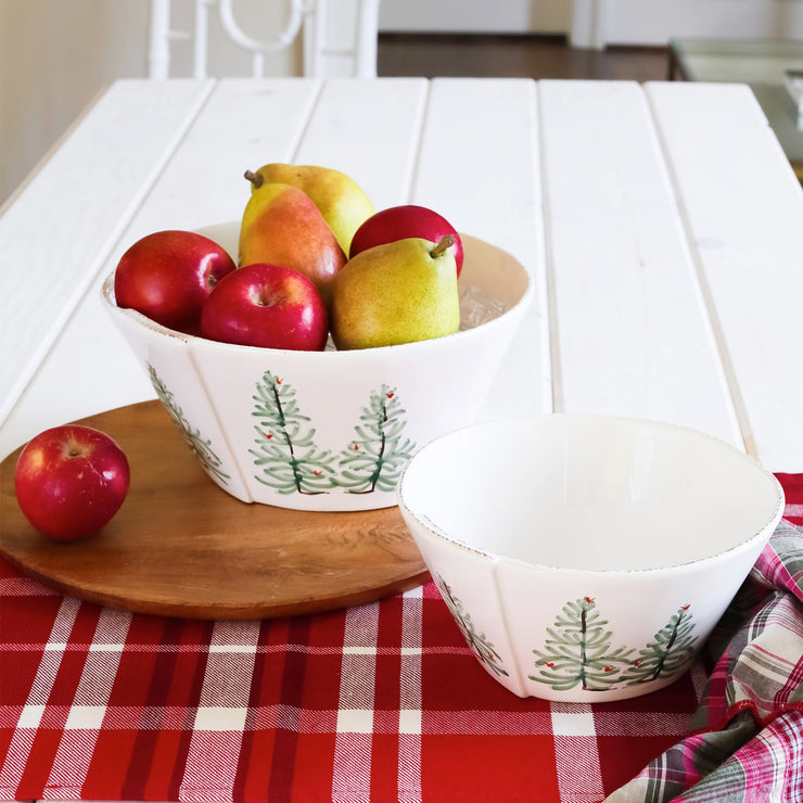 Lastra Holiday Medium Stacking Serving Bowl
