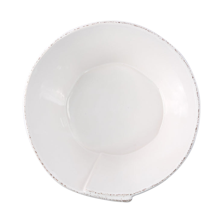 Lastra Holiday Large Stacking Serving Bowl by VIETRI