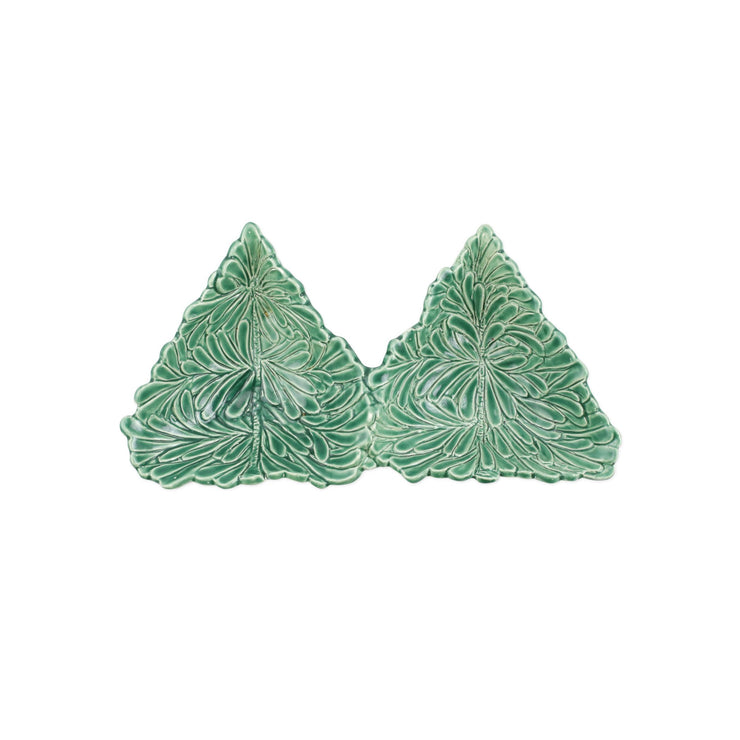 Lastra Holiday Figural Tree Two-Part Server by VIETRI