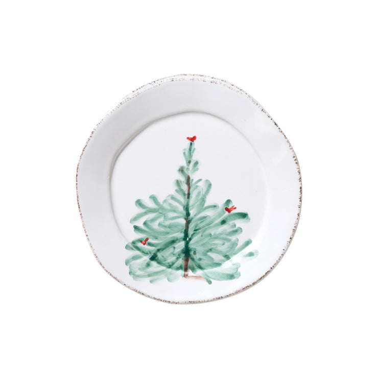 Lastra Holiday Canape Plate by VIETRI