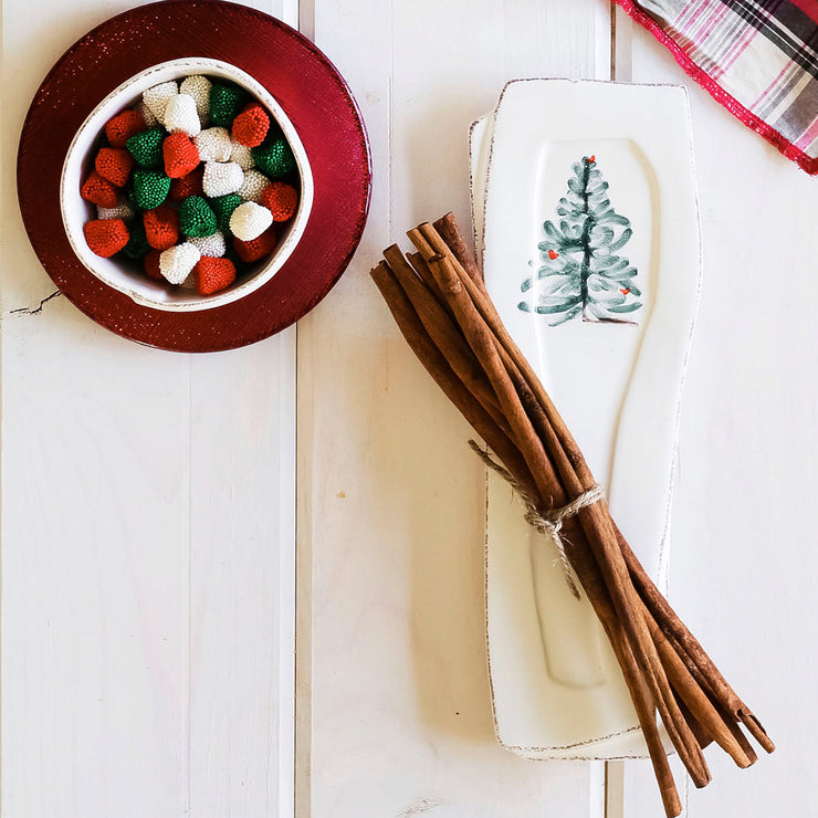 Lastra Holiday Spoon Rest