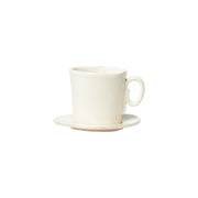 Lastra  Espresso Cup and Saucer by VIETRI