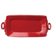 Lastra Handled Rectangular Platter by VIETRI