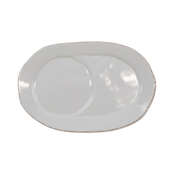 Lastra Oval Tray by VIETRI