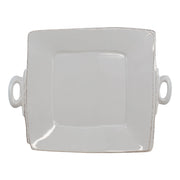 Lastra Handled Square Platter by VIETRI