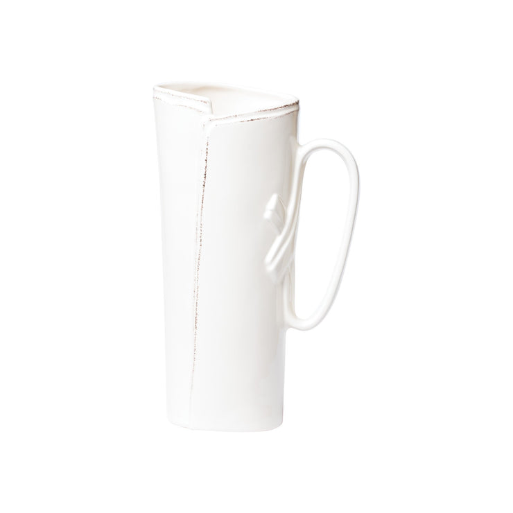 Lastra Linen Tavern Pitcher by VIETRI