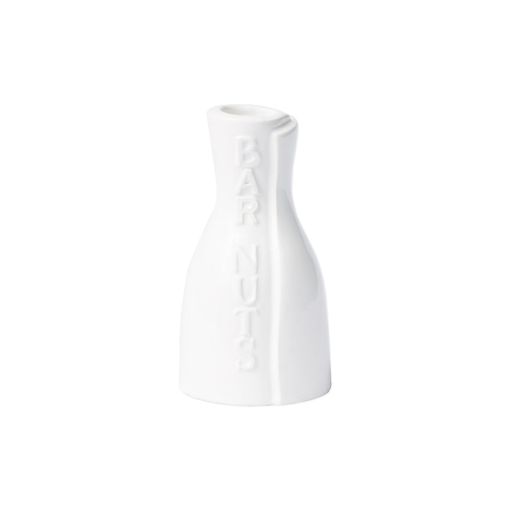 Lastra White Bar Nuts Bottle by VIETRI