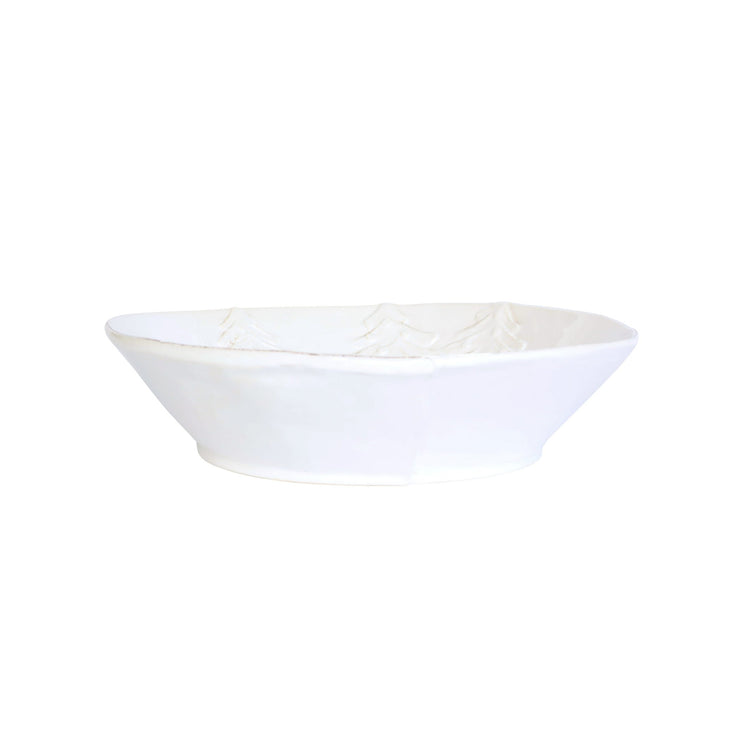Lastra Winterland Large Shallow Bowl by VIETRI
