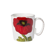 Lastra Poppy Mug by VIETRI