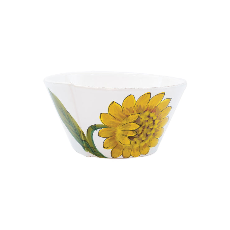 Lastra Sunflower Medium Stacking Serving Bowl by VIETRI