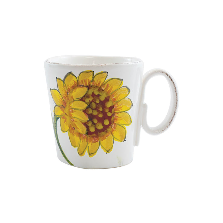 Lastra Sunflower Mug by VIETRI