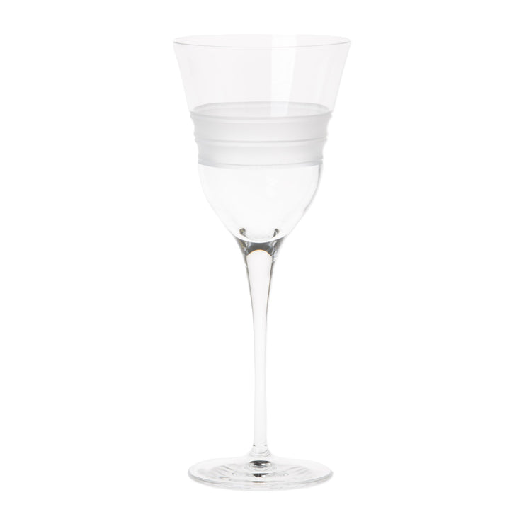 Lastra Water Glass by VIETRI