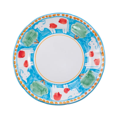 Campagna Mucca Dinner Plate by VIETRI
