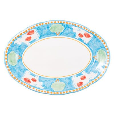 Campagna Mucca Oval Platter